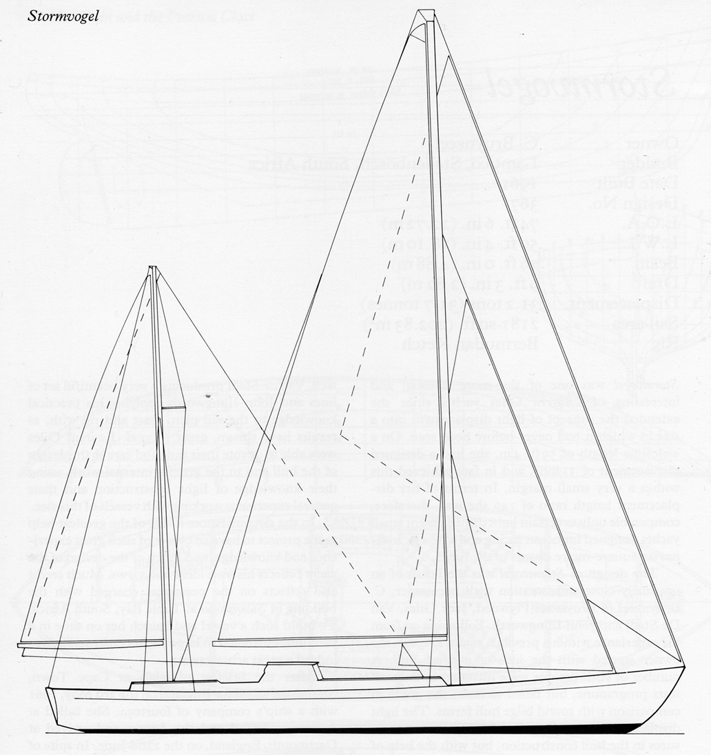 Stormvogel Sail Plan