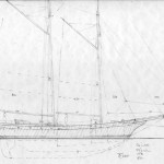 Sealing Schooner Sail Plan