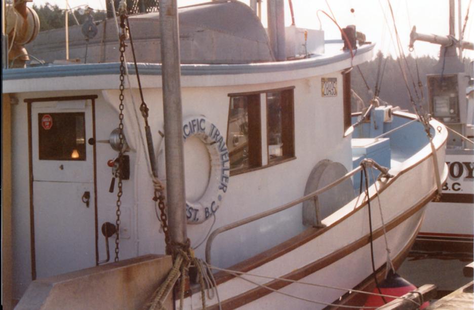 Pacific Traveller built by Remmem Boat Works
