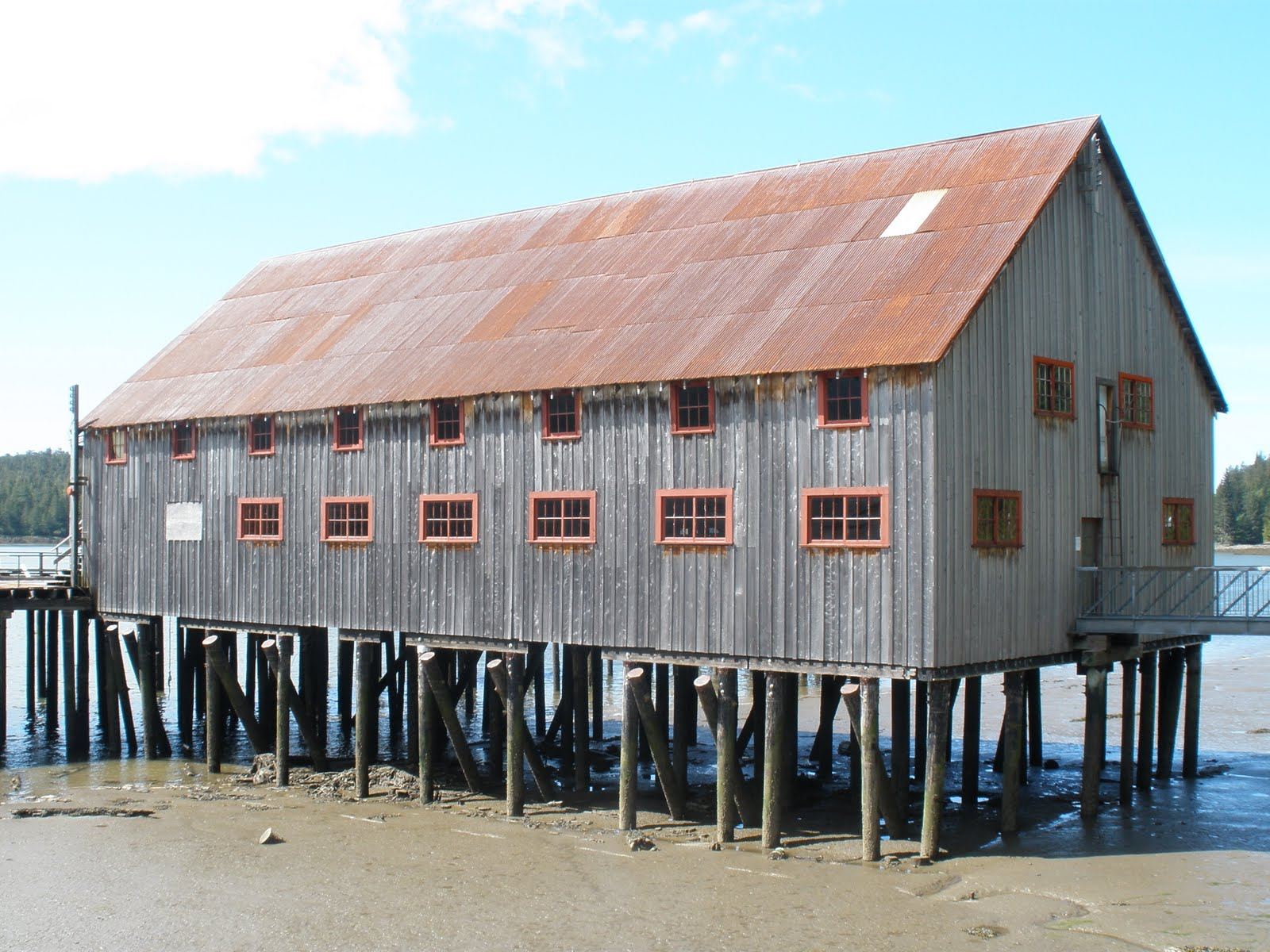 North Pacific Net Shed