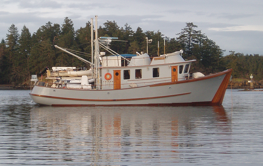 Sayonara a garden designed heavy cruiser for William garden sailboat designs