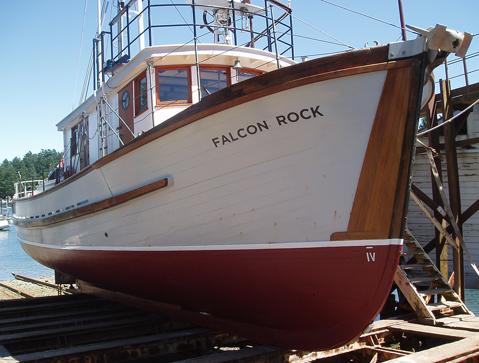 Bow of the Falcon Rock