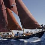 Lumberjack under sail