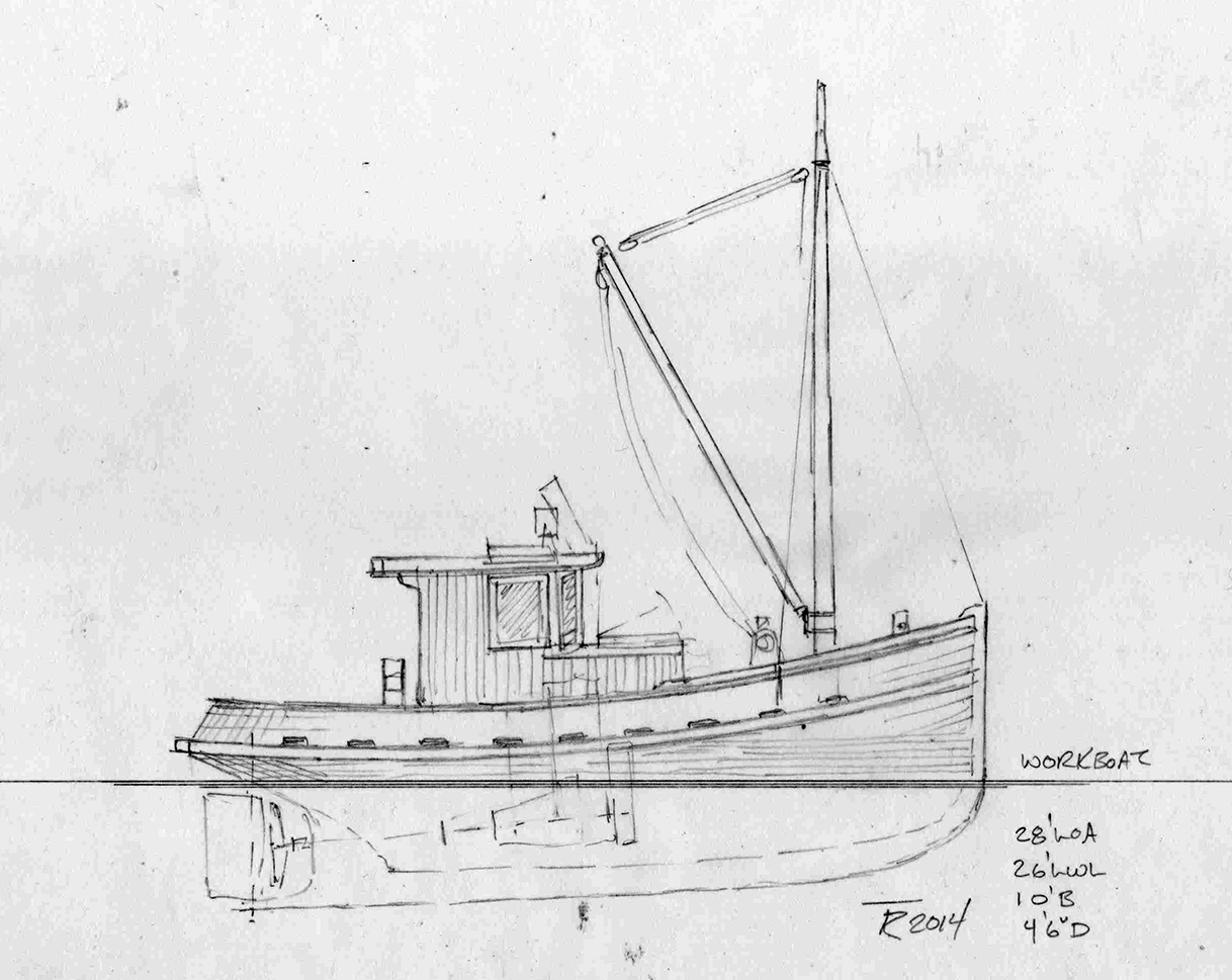 28' Workboat