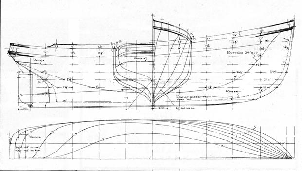 troller hull lines ForGarden Design Troller