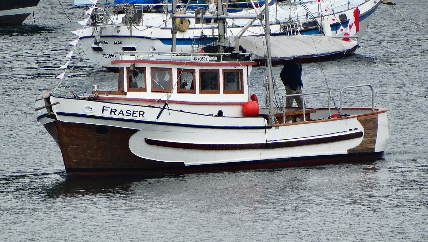 The Fraser in Silva Bay
