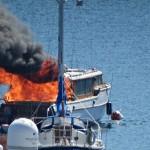 Fire aboard Kitsap