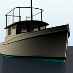 Tea Cup aluminum tug cruiser