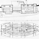 Arrangement drawing for Al Mason design 36'